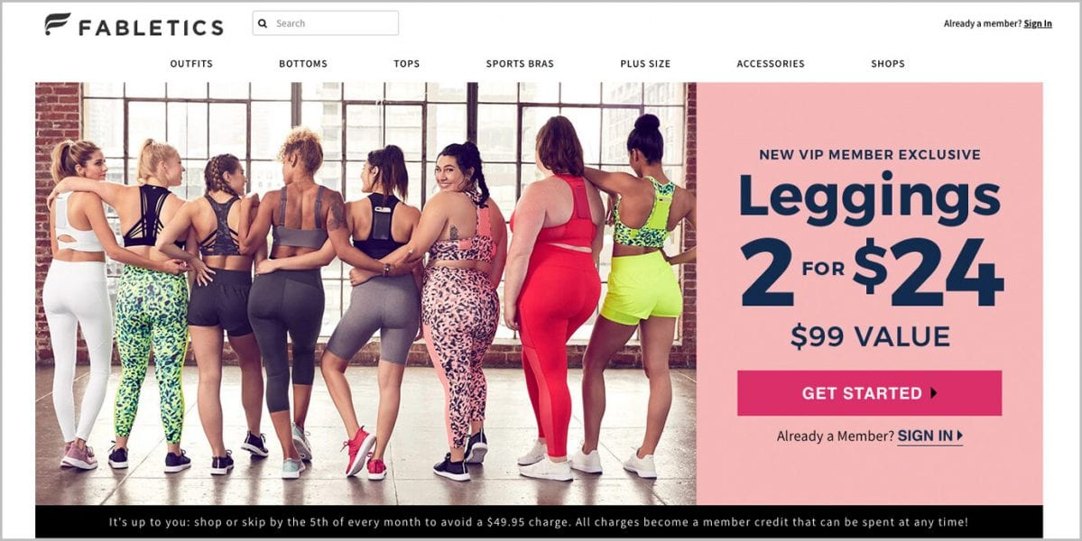 Most Read Guide: How to cancel the Fabletics membership?